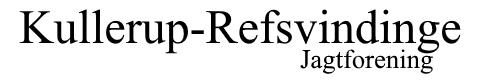 Kullerup Refsvindinge Jagtforening Logo